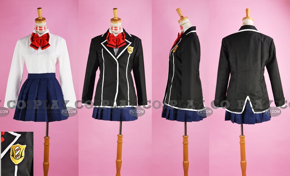Arisa Cosplay Costume from Guilty Crown