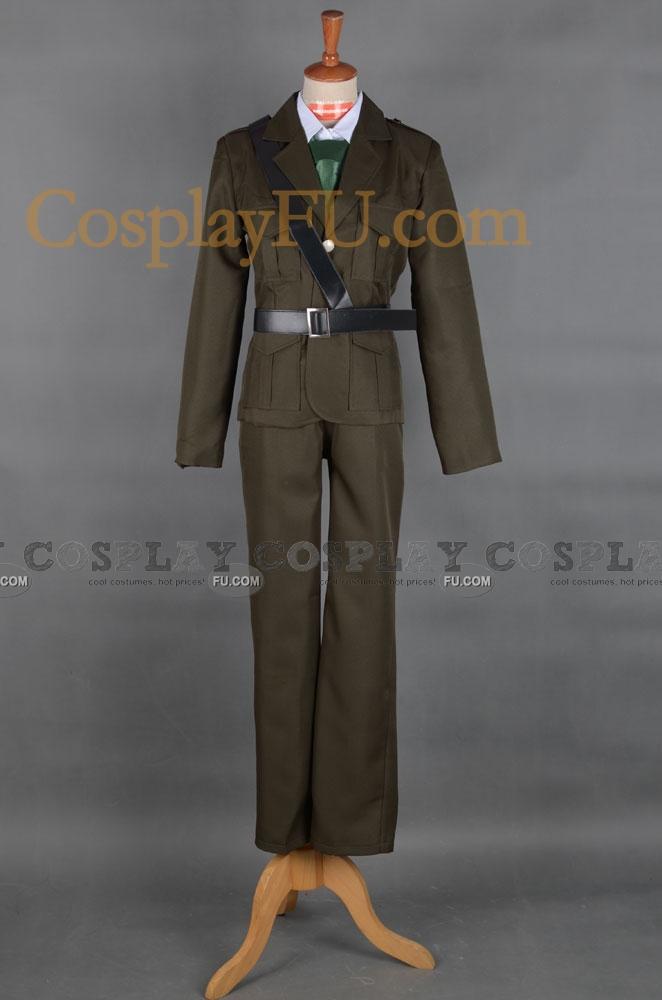 Arthur Cosplay Costume (United Kingdom) from Axis Powers Hetalia