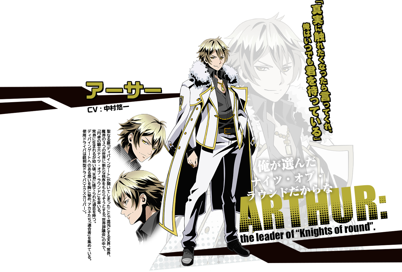 Arthur Cosplay Costume from Divine Gate