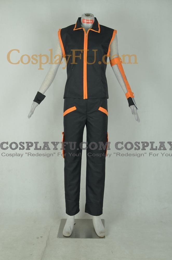 Shaman King Yoh Asakura Costume (Nero)