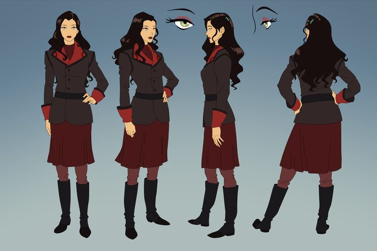 Asami Cosplay Costume (Business Attire) from The Legend of Korra