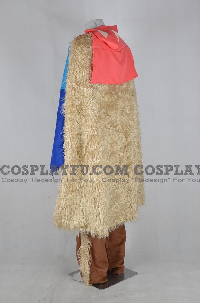 Custom Ashitaka Cosplay Costume from Princess Mononoke ...