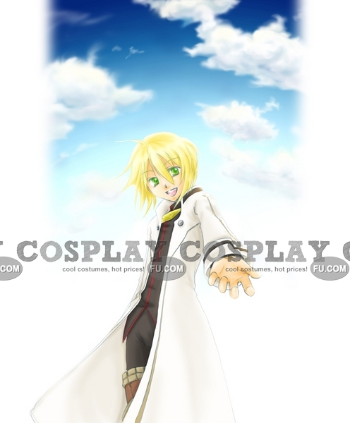 Aster Cosplay Costume from Tales of Symphonia