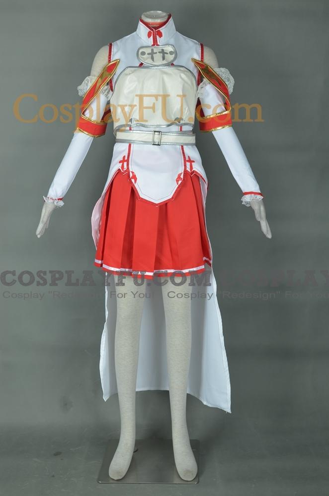 Asuna Cosplay Costume from Sword Art Online
