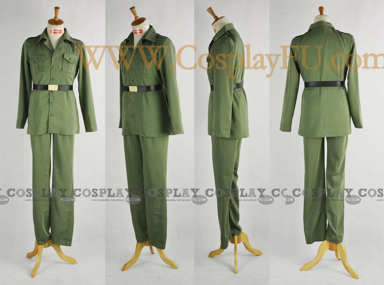 Australia Cosplay Costume from Axis Powers Hetalia