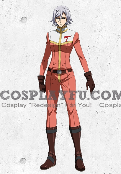 Azee Cosplay Costume from Mobile Suit Gundam Iron Blooded Orphans