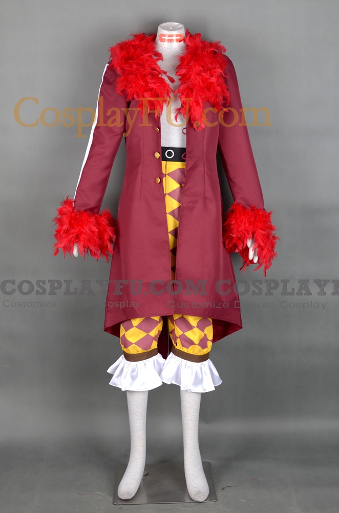 Bartolomeo Cosplay Costume from One Piece