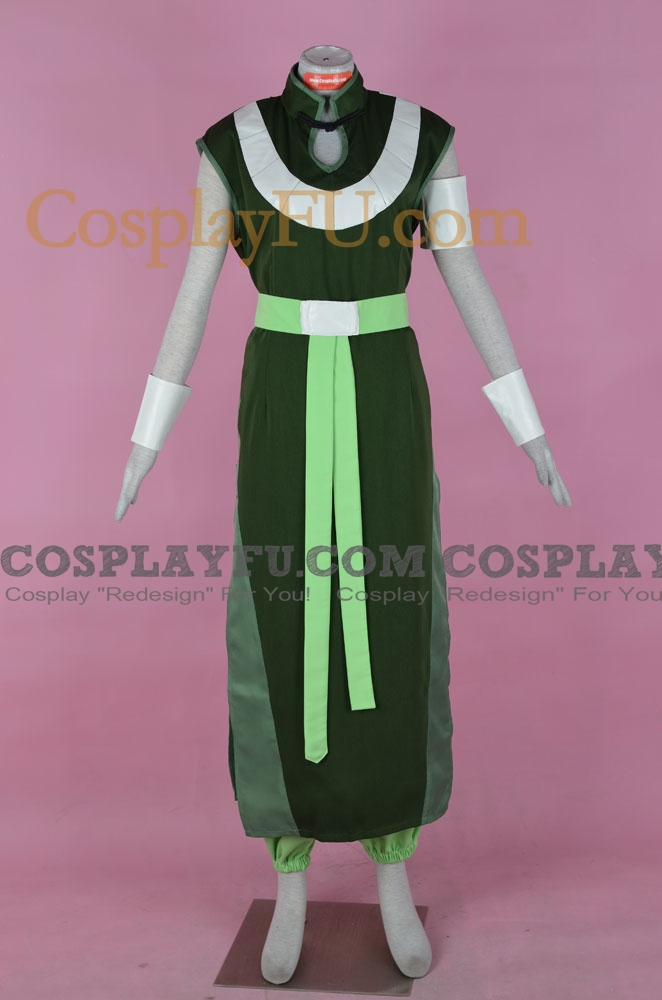 Beifong Cosplay Costume from The Legend of Korra