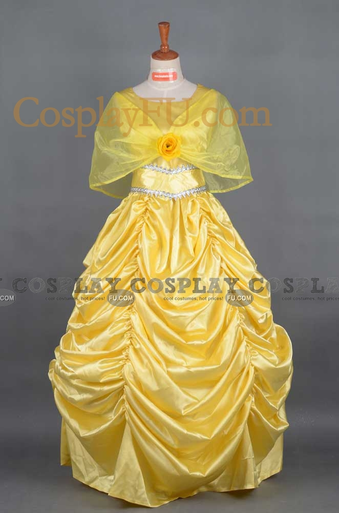 Belle Cosplay Costume (Halloween) from Beauty and the Beast