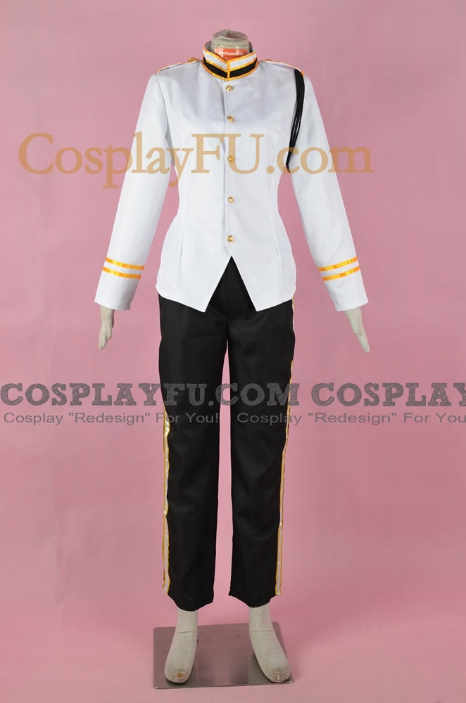 Bellhop Cosplay Costume (White Uniform) from Tower of Terror