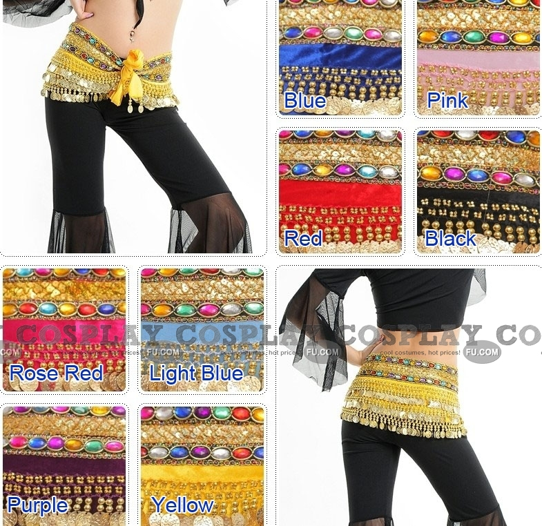 Belly Dance Costume (8 colors)