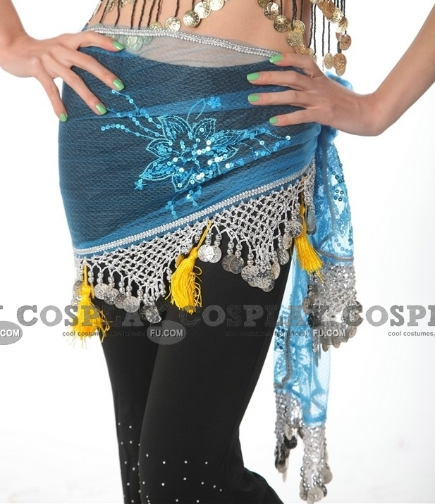 Belly Dance Hip Scarf (8 colors, 05)