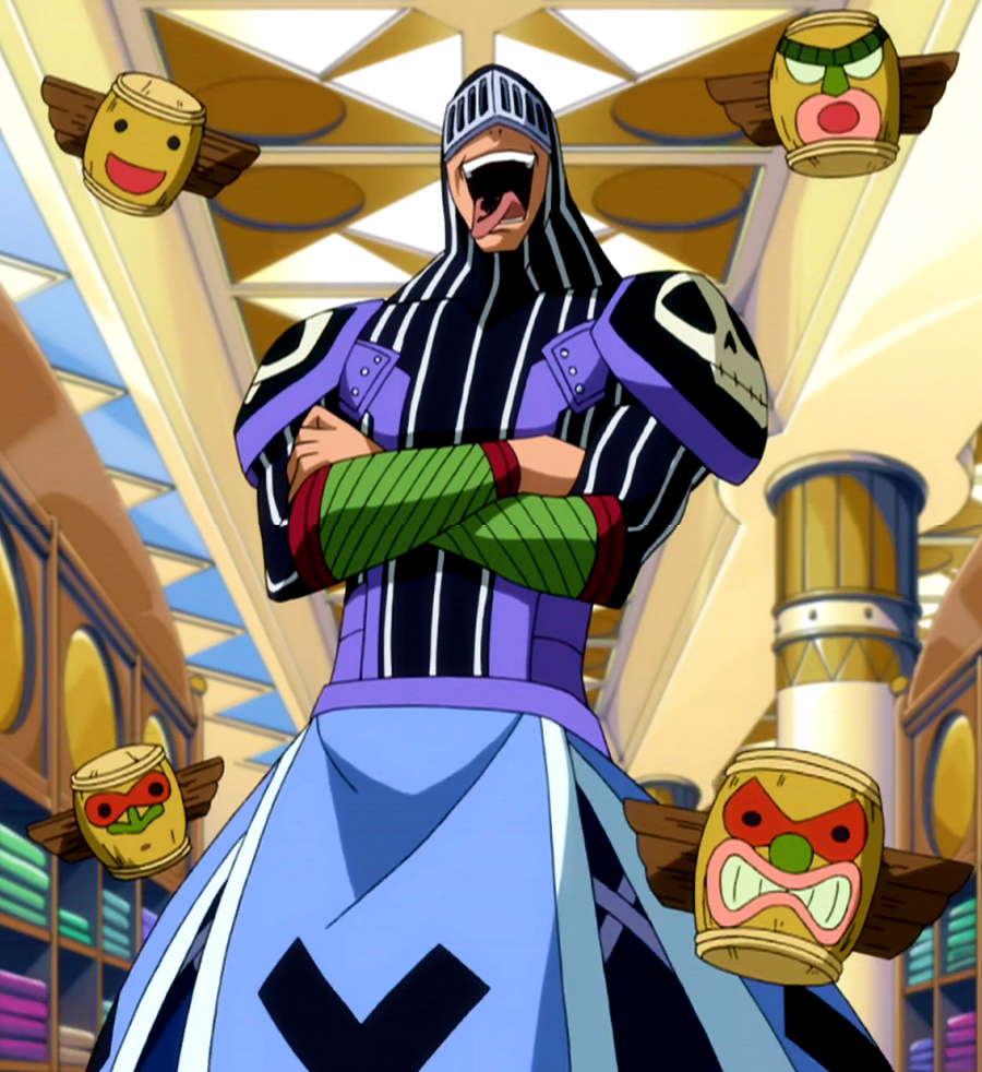 Bickslow Cosplay Costume from Fairy Tail