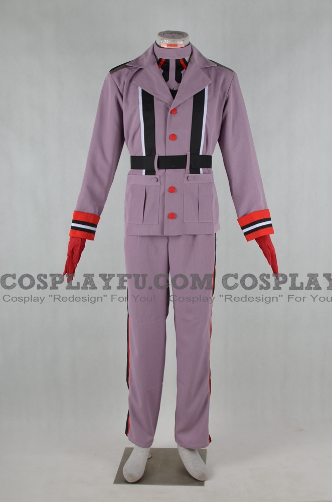 Bismarck Cosplay Costume (Male) from Kantai Collection