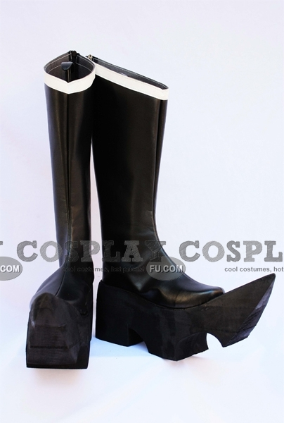 Black Rock Shooter Black Gold Saw Zapatos (888)