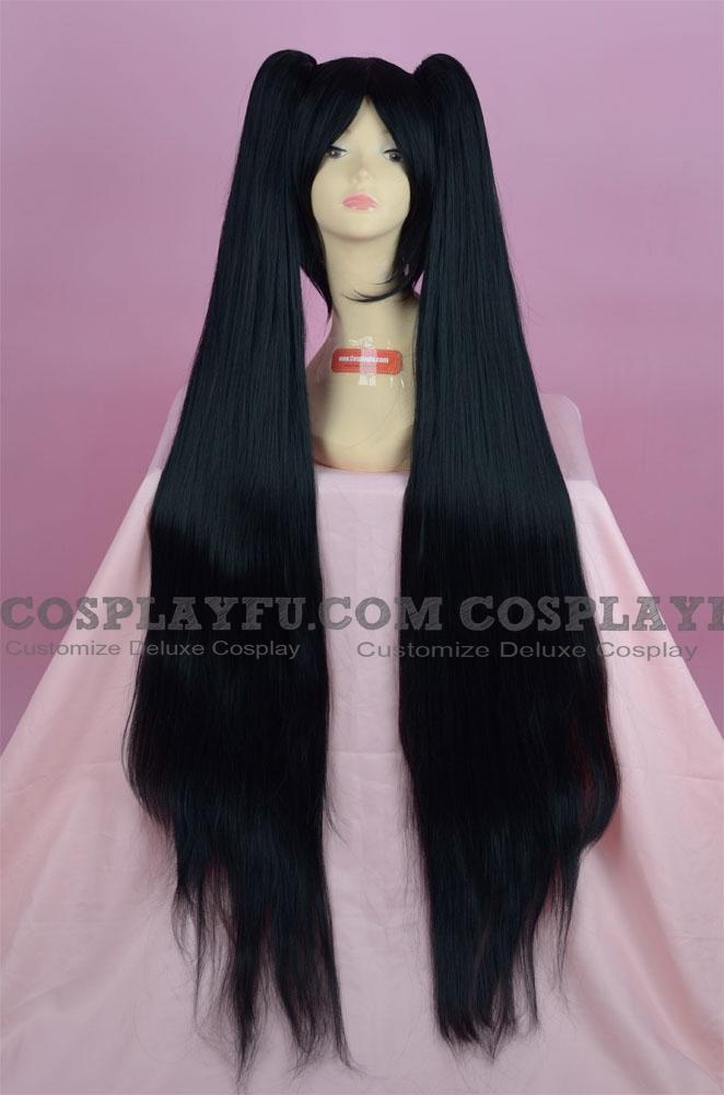 Black Wig (Long,Straight,Miku Zatsune)