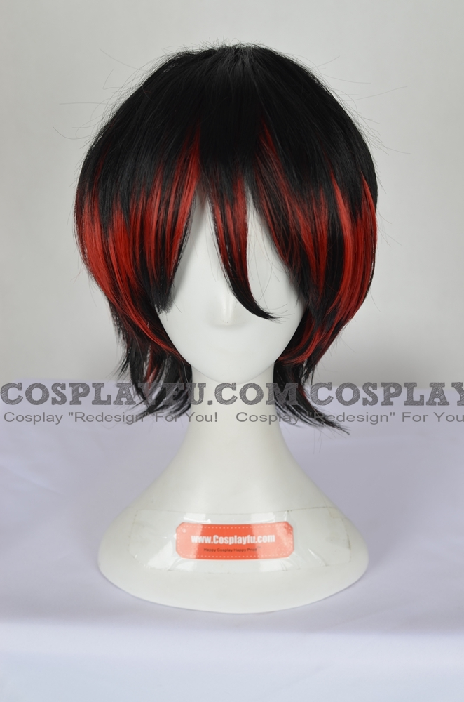 Black Wig (Mixed,Short,Spike)