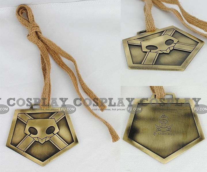 Shinigami Plate De  Cosplay