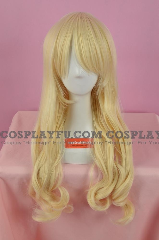 Blonde Wig (Medium, Curly, Sena)