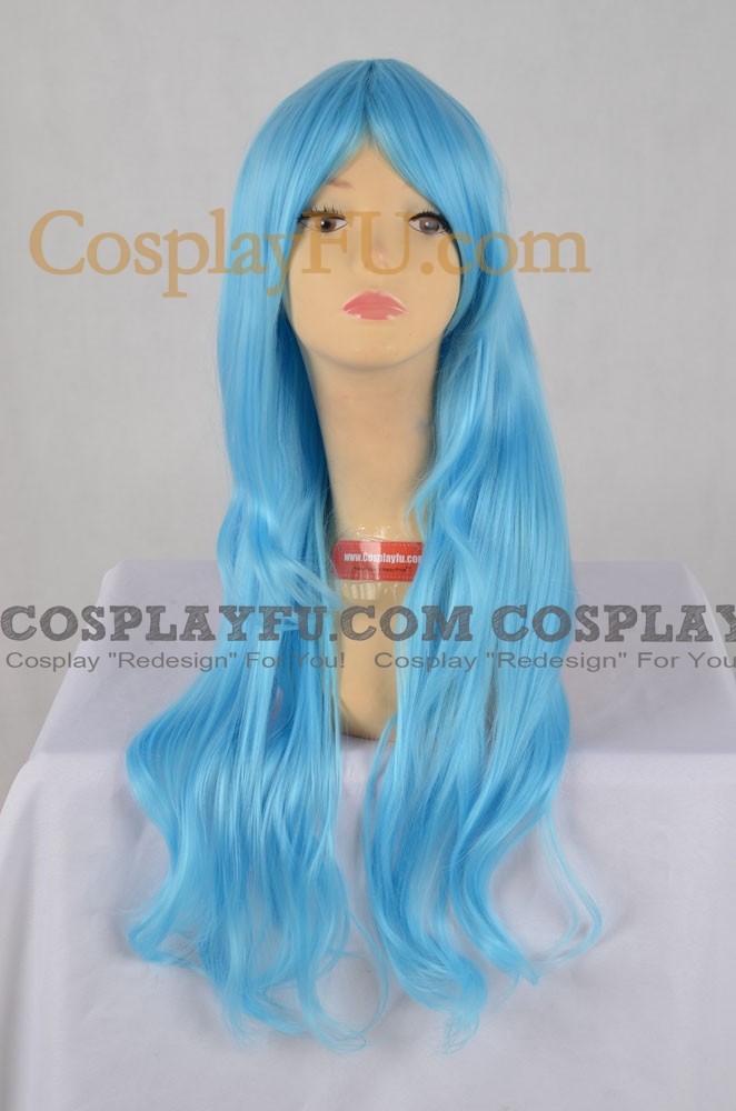 Blue Wig (Long,Curly,Sheryl CF22)
