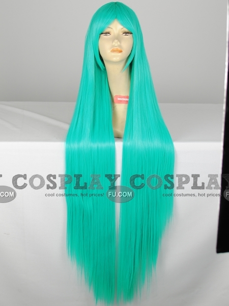 Green Wig (Long,Straight,Miku CF24)