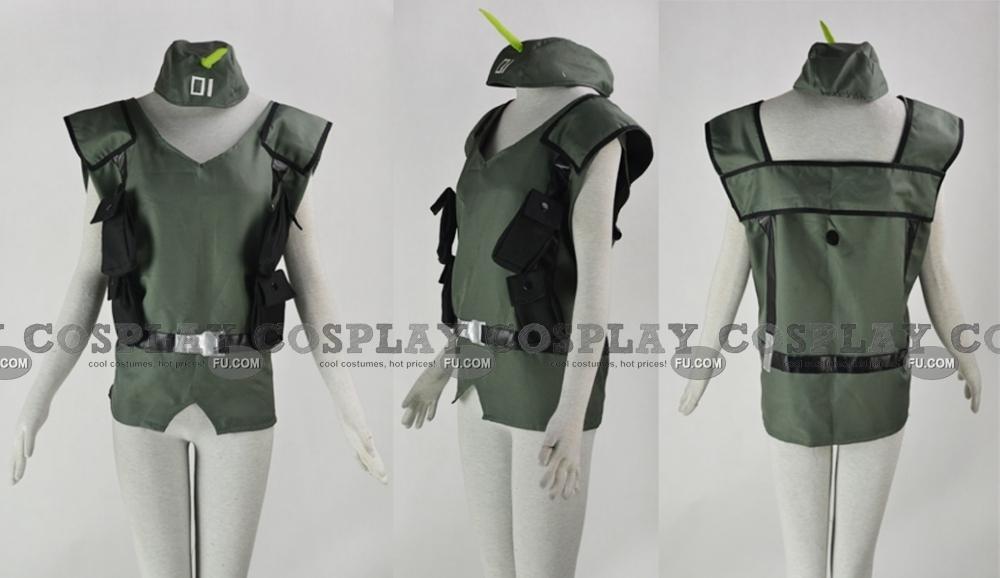 Bonta Kun Cosplay Costume (Fixed Size) from Full Metal Panic!