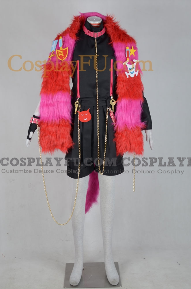 Boris Cosplay Costume from Alice in the Country of Hearts