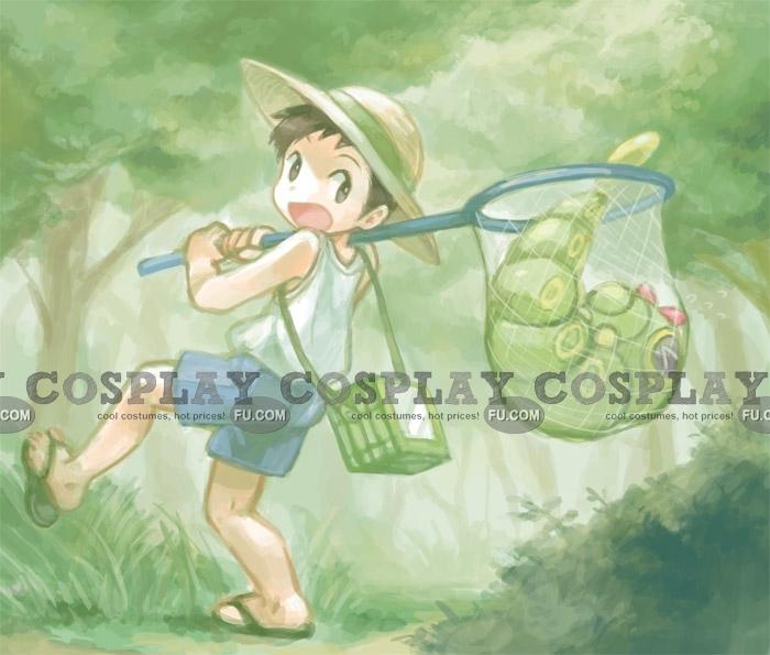 Bug Catcher Cosplay Costume from Pokemon