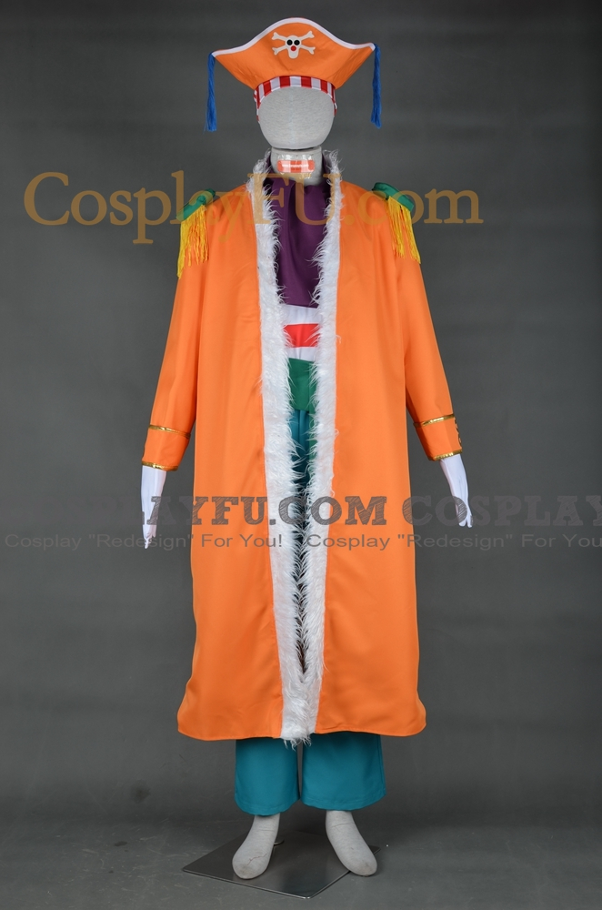 Buggy Cosplay Costume from One Piece