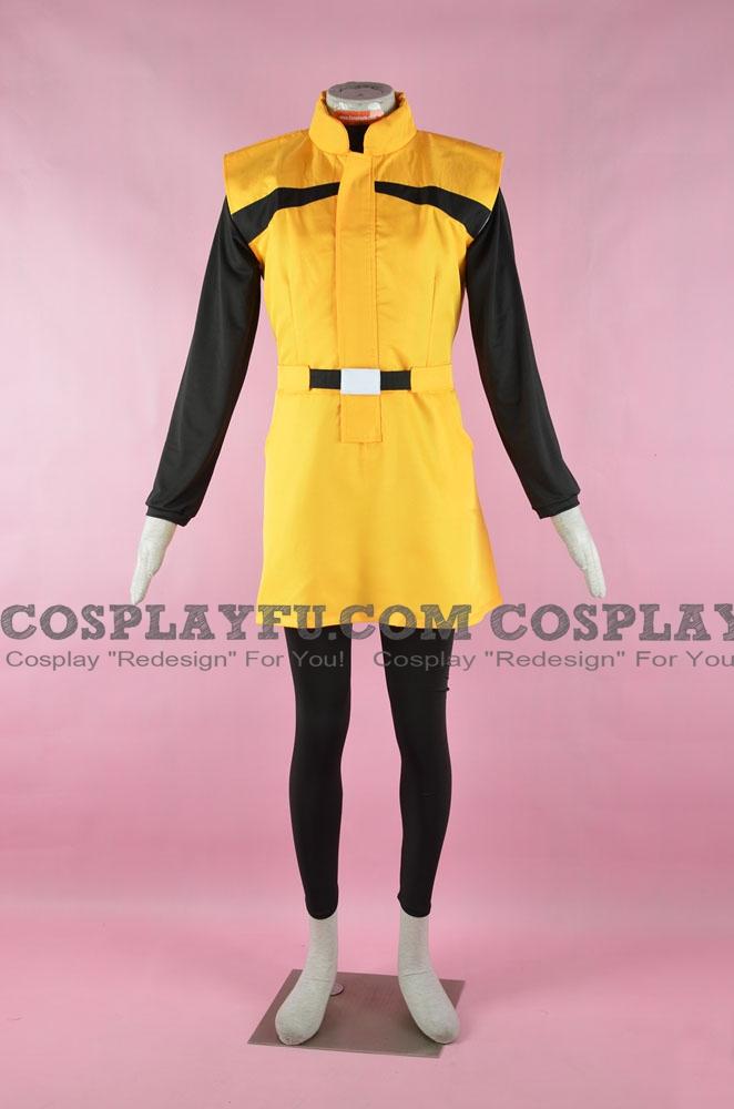 Bulma Cosplay Costume from DBZ Kai