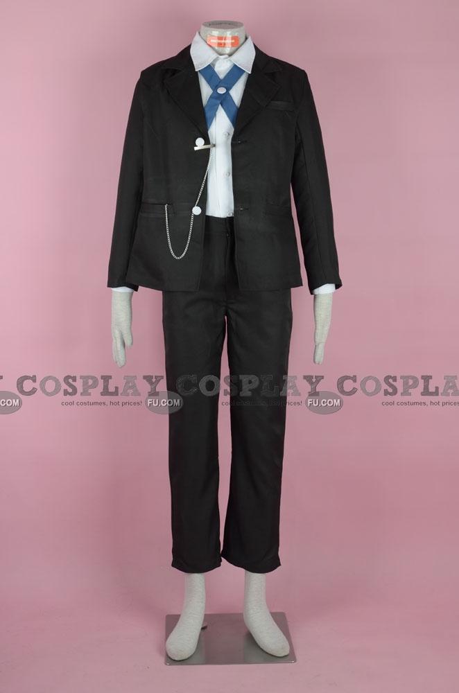 Byakuya Cosplay Costume from Danganronpa