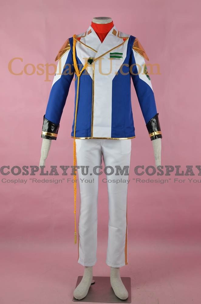 Mobile Suit Gundam SEED Cagalli Yula Athha Costume (Uniform)