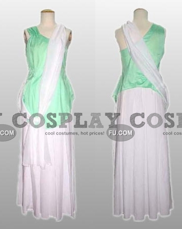 Cagalli Cosplay Costume (Wedding Dress) from Gundam Seed