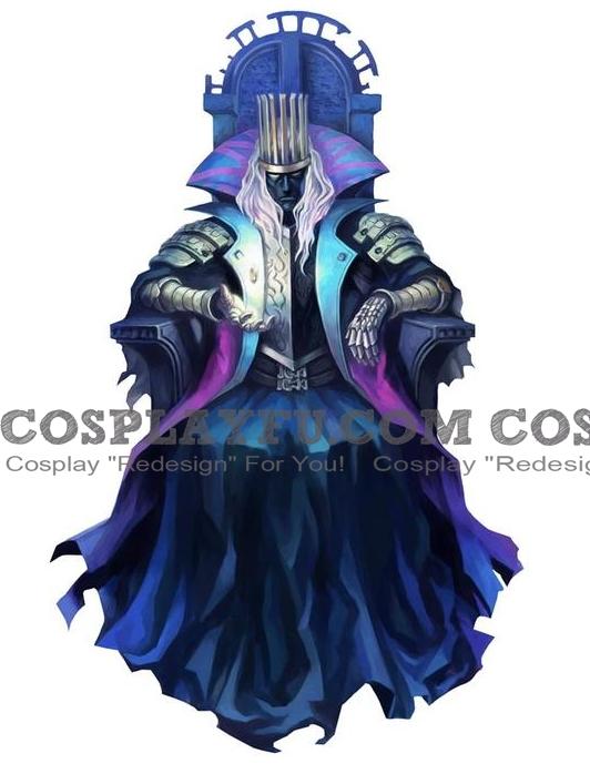 Calvaros Cosplay Costume from Grim Grimoire