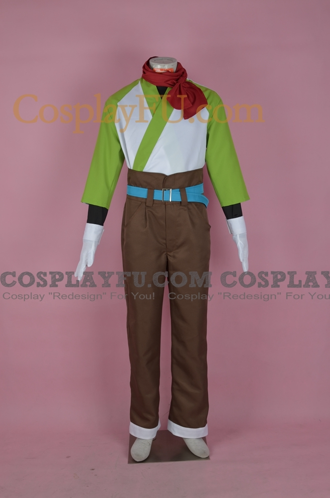 Capel Cosplay Costume from Tales of Vesperia