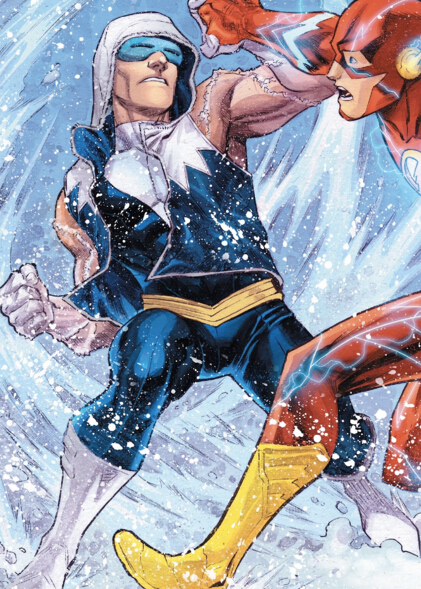 Captain Cold Cosplay Costume from DC Comics