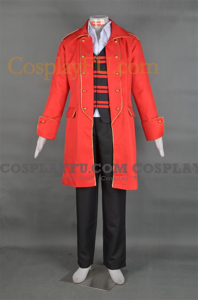 Captain Marvelous Cosplay Costume from Kaizoku Sentai Gokaiger