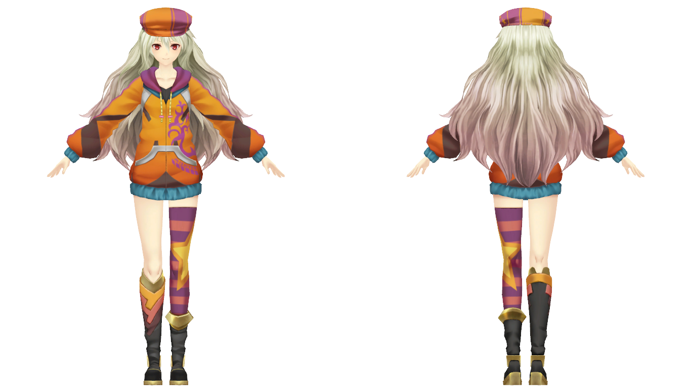 Casty Cosplay Costume from Ar nosurge