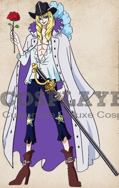 Cavendish Cosplay Costume from One Piece