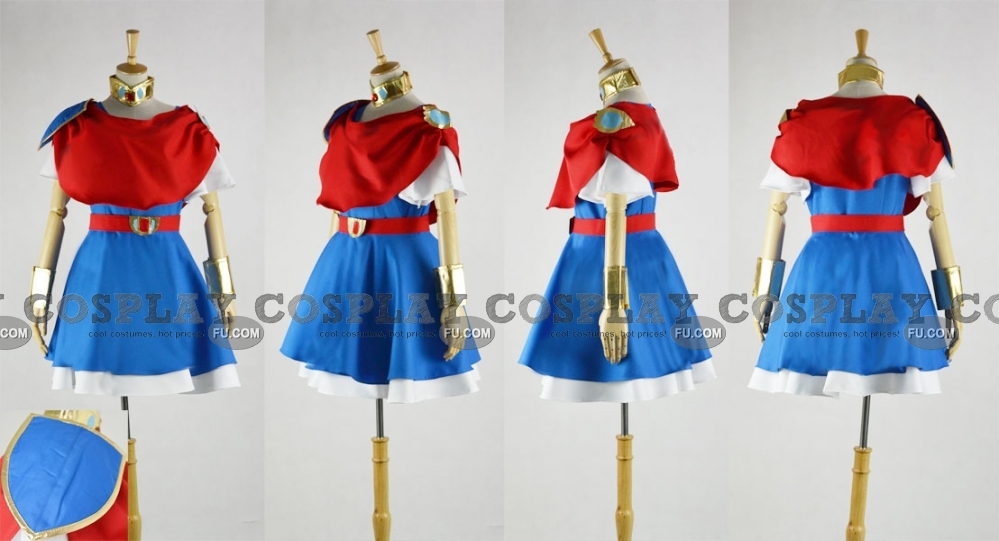 Chacha Cosplay Costume from Akazukin Chacha