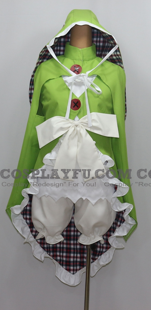 Rokka: Braves of the Six Flowers Chamo Rosso Costume (1760)