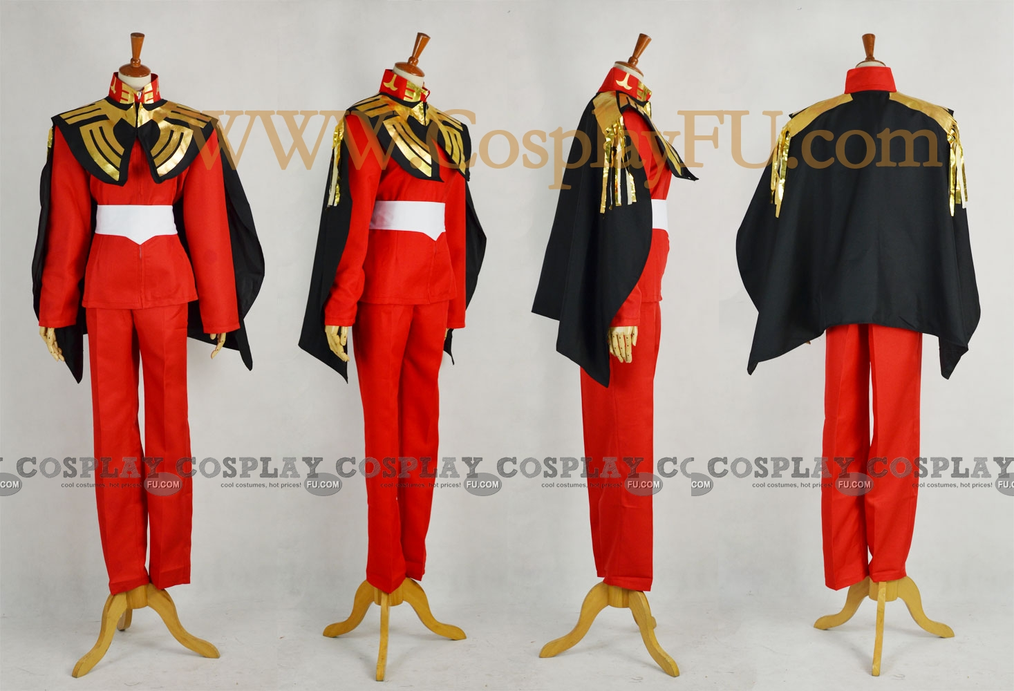 Char Cosplay Costume from Mobile Suit Gundam
