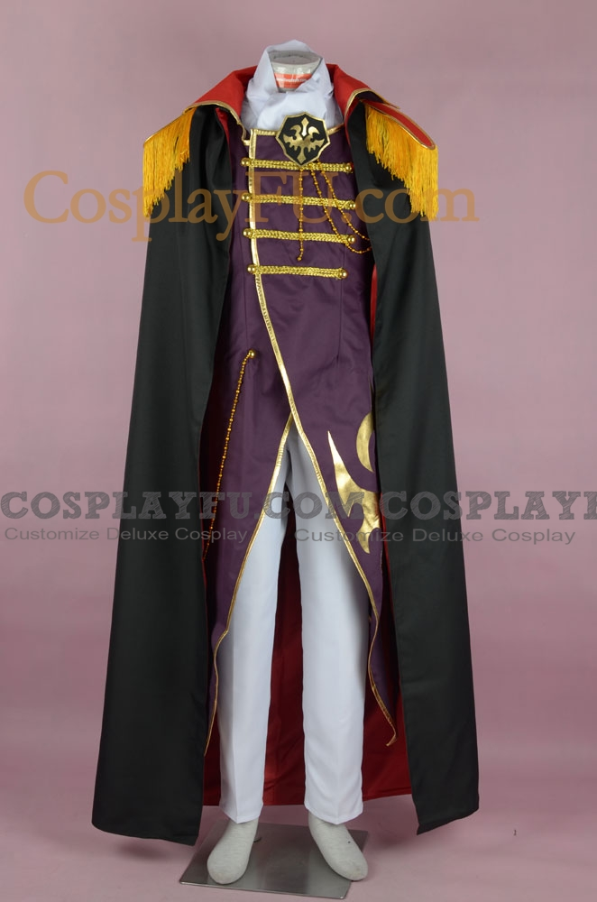 Charles Cosplay Costume from Code Geass
