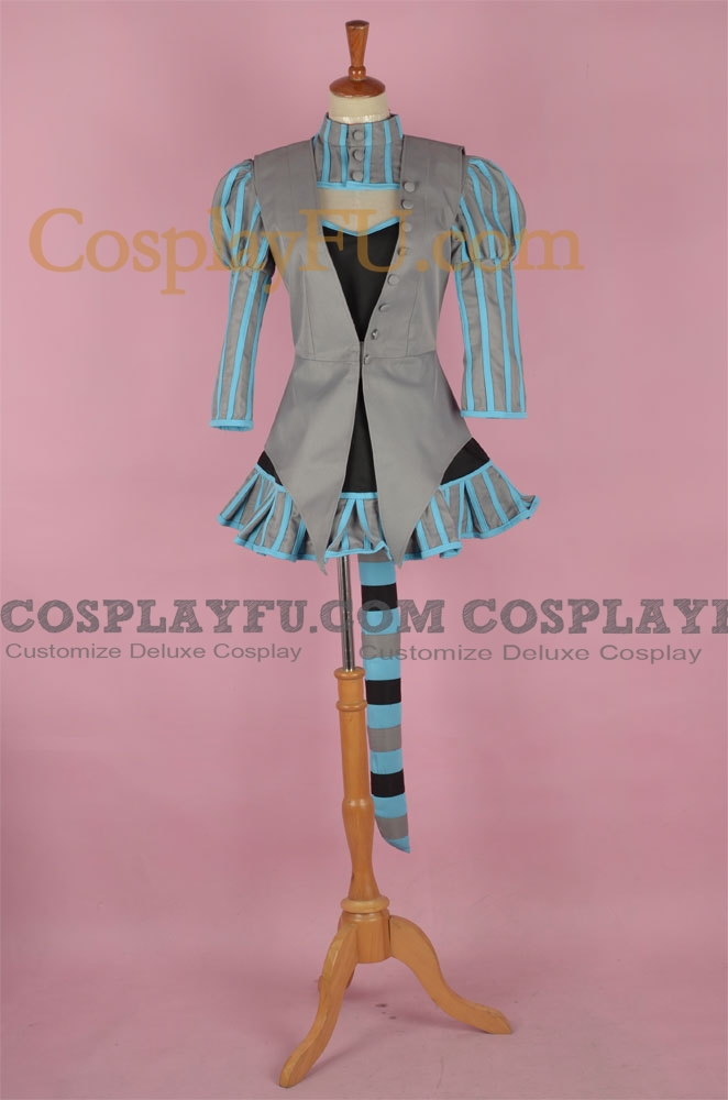 Cheshire Cat Cosplay Costume from Alice In Wonderland