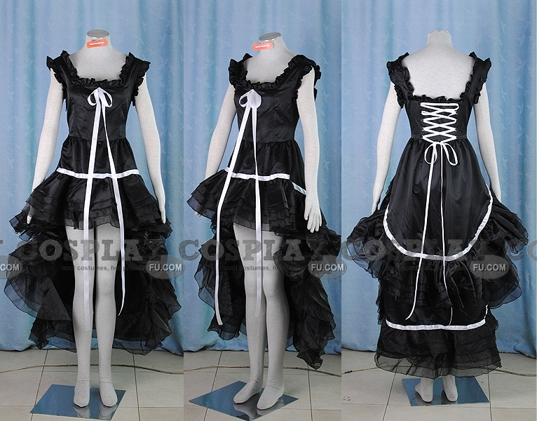 Freya Cosplay Costume (Black Simple) from Chobits