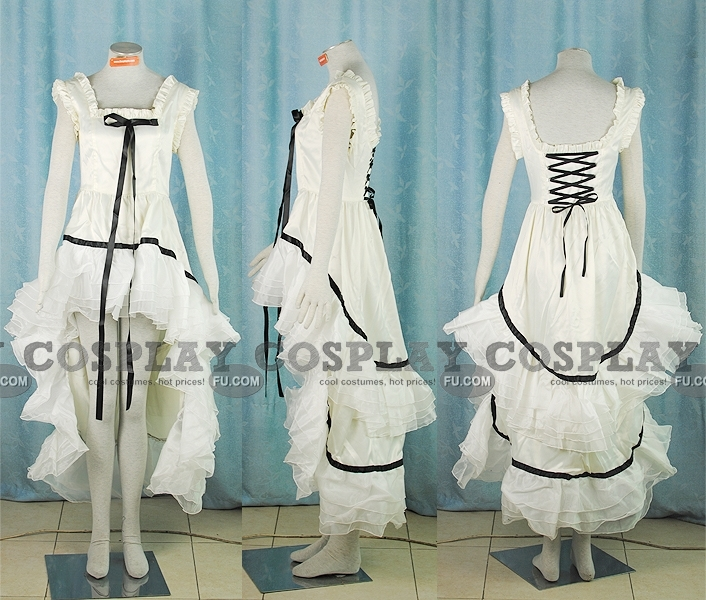 Chii Cosplay Costume (White Simple) from Chobits