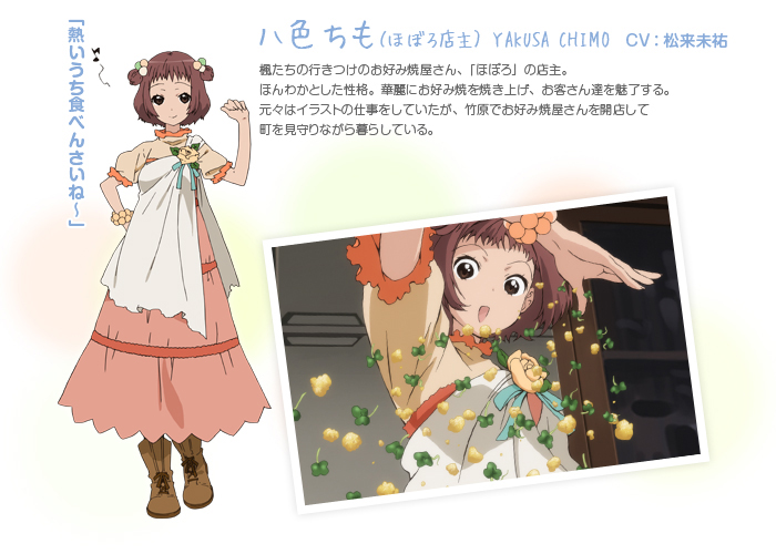 Chimo Cosplay Costume from Tamayura