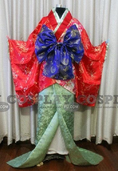 Hakuouki Chizuru Yukimura Kostüme (Kimono)