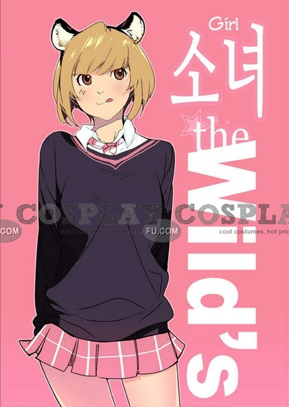 Choi Cosplay Costume from Girls of the Wild's