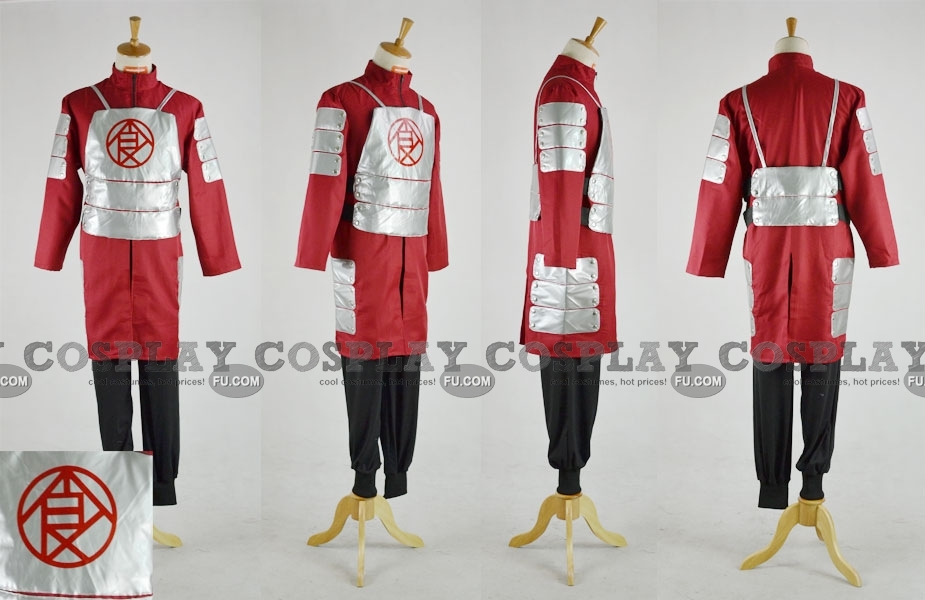 Chouji Cosplay Costume from Naruto Shippuuden